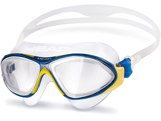 Head Horizon Mask Clear-YellowBlue-Clear